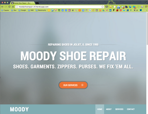 Moody Shoe Repair (new) - Home