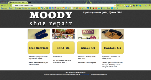 Moody Shoe Repair (old) - Home